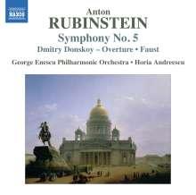 Anton Rubinstein (1829-1894): Symphonie Nr.5, CD