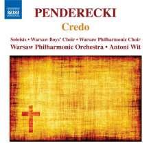 Krzysztof Penderecki (1933-2020): Credo, CD