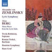 Alexander von Zemlinsky (1871-1942): Lyrische Symphonie in 7 Gesängen op.18, CD