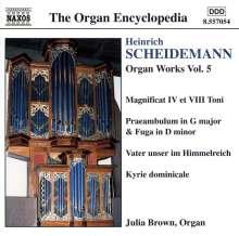 Heinrich Scheidemann (1596-1663): Sämtliche Orgelwerke Vol.5, CD