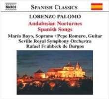 Lorenzo Palomo (geb. 1938): Nocturnos de Andalucia, CD