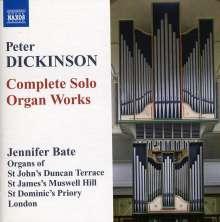 Peter Dickinson (geb. 1934): Sämtliche Orgelwerke, CD
