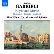 Andrea Gabrieli (1510-1586): Cembalowerke, CD