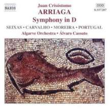 Juan Arriaga (1806-1826): Symphonie in D, CD