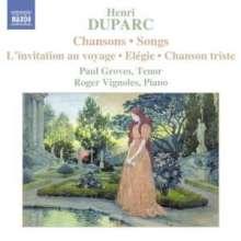 Henri Duparc (1848-1933): 15 Lieder, CD