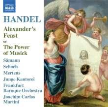 Georg Friedrich Händel (1685-1759): Alexander's Feast, CD