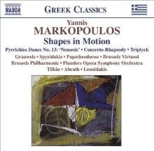 """Yannis Markopoulos (geb. 1939): Klavierkonzert """"Shapes in Motion"""", CD"""