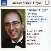Michael Unger - Organ Recital, CD