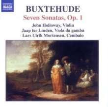 Dieterich Buxtehude (1637-1707): Sämtliche Kammermusik Vol.1, CD