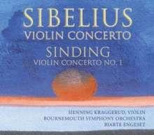 Christian Sinding (1856-1941): Violinkonzert Nr.1 op.45, CD