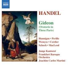 Georg Friedrich Händel (1685-1759): Gideon (Oratorium in 3 Teilen), 2 CDs