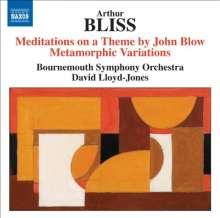 Arthur Bliss (1891-1975): Metamorphic Variations for Orchestra, CD