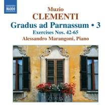 Muzio Clementi (1752-1832): Gradus ad Parnassum op.44 Vol.3, CD