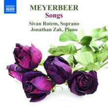 Giacomo Meyerbeer (1791-1864): Lieder Vol.1, CD