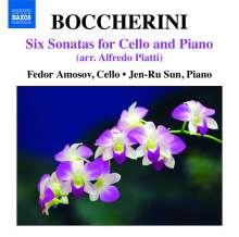 Luigi Boccherini (1743-1805): Sonaten für Cello & Klavier, CD