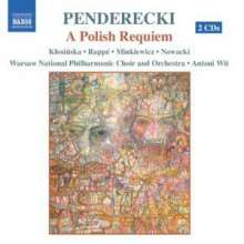 Krzysztof Penderecki (geb. 1933): Polnisches Requiem, 2 CDs