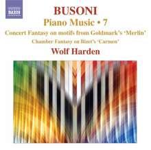 Ferruccio Busoni (1866-1924): Klavierwerke Vol.7, CD