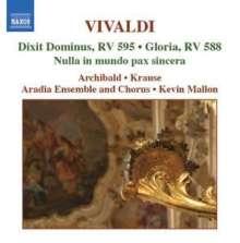 Antonio Vivaldi (1678-1741): Geistliche Musik Vol.1, CD