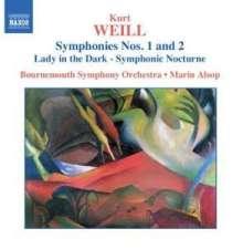Kurt Weill (1900-1950): Symphonien Nr.1 & 2, CD