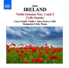 John Ireland (1879-1962): Violinsonaten Nr.1 & 2, CD