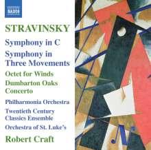 Igor Strawinsky (1882-1971): Symphonie in C (1940), CD