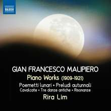 Gian Francesco Malipiero (1882-1974): Klavierwerke, CD