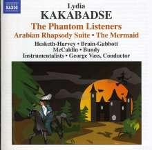 Lydia Kakabadse (geb. 1955): The Phantom Listeners, CD
