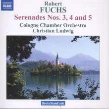 Robert Fuchs (1847-1927): Serenaden für Streicher Nr.3-5, CD
