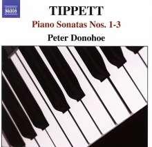 Michael Tippett (1905-1998): Klaviersonaten Nr.1-3, CD
