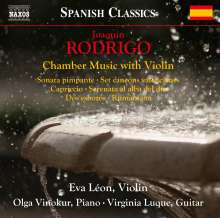Joaquin Rodrigo (1901-1999): Kammermusik mit Violine, CD