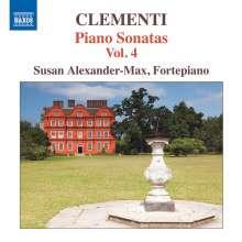 Muzio Clementi (1752-1832): Klaviersonaten Vol.4, CD