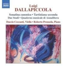 Luigi Dallapiccola (1904-1975): Klavierwerke, CD