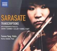 Pablo de Sarasate (1844-1908): Musik für Violine & Klavier Vol.4, CD