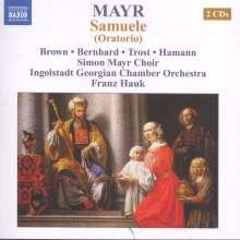 Johann Simon (Giovanni Simone) Mayr (1763-1845): Samuele, 2 CDs
