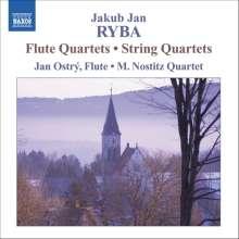 Jan Jakub Ryba (1765-1815): Flötenquartette in C-Dur,F-Dur,a-moll, CD