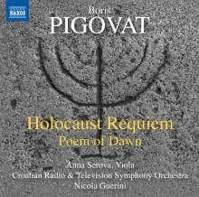 Boris Pigovat (geb. 1953): Holocaust Requiem, CD