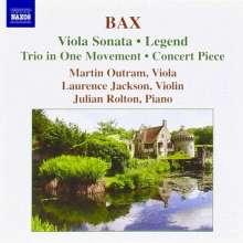 Arnold Bax (1883-1953): Sonate für Viola & Klavier, CD