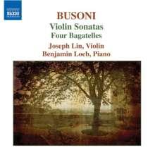 Ferruccio Busoni (1866-1924): Sonaten f.Violine & Klavier Nr.1 & 2, CD