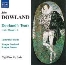 John Dowland (1562-1626): Lautenwerke Vol.2, CD