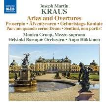 Josef Martin Kraus (1756-1792): Arien & Ouvertüren, CD