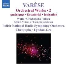 Edgar Varese (1885-1965): Orchesterwerke Vol.2, CD