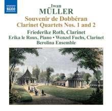 Iwan Müller (1786-1854): Klarinettenquartette Nr.1 & 2, CD