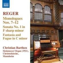 Max Reger (1873-1916): Sämtliche Orgelwerke Vol.13, CD