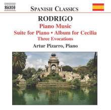 Joaquin Rodrigo (1901-1999): Klavierwerke Vol.2, CD