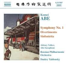 Komei Abe (1911-2006): Symphonie Nr.1, CD