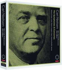 Carl Nielsen (1865-1931): Symphonien & Konzerte, 4 Super Audio CDs