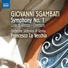 Giovanni Sgambati (1841-1914): Symphonie Nr.1, CD