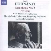 Ernst von Dohnanyi (1877-1960): Symphonie Nr.2, CD