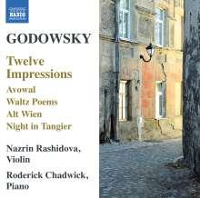 Leopold Godowsky (1870-1938): 12 Impressionen für Violine & Klavier, CD