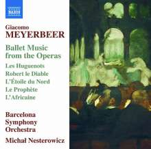 Giacomo Meyerbeer (1791-1864): Ballettmusik, CD